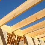 Виды деревянных балок перекрытия - расчет балки на изгиб, прочность и нагрузку.