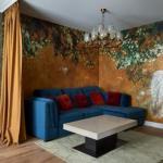 Элегантное преображение кухни - гостиной в новой квартире замечательной актрисы Марии Шукшиной.