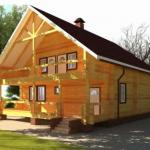 Этапы строительства дома из дерева.