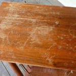 Как быстро и просто избавиться от царапин на деревянной мебели.