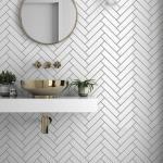 Керамическая плитка - один из самых прочных, гигиеничных и красивых отделочных материалов для ванной.