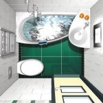 Этапы ремонта ванной комнаты.