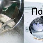 Как просто и быстро отмыть белые кеды.