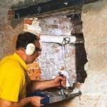 Как сделать проем в несущей стене.