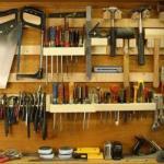 Как организовать хранение инструментов.