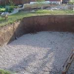 Как построить бассейн своими руками - мы делаем бетонный бассейн на даче.