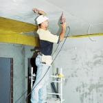 Подвесные потолки: монтаж своими руками.