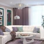 Дизайн интерьера однокомнатной квартиры - студии.