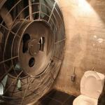 Вентиляция в ванной и туалете.