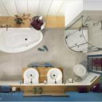 Перепланировки ванной комнаты.