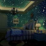 Светящиеся обои привнесут волшебства в любой дом или квартиру.