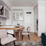 Дизайн двухкомнатной квартиры (55 кв.