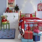 Новогодний декор детской комнаты атмосферу волшебной сказки создаст.