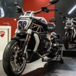 Первая в России выставка мотоциклов Ducati.