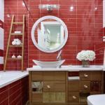 Даже крошечная ванная комната может быть стильной и функциональной.