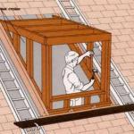 "Как сделать ""Кукушку"" на крыше."