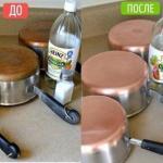 Как очистить до блеска старую посуду?