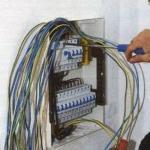Замена электропроводки в квартире.