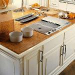 Кухонные столешницы из дсп: описание, достоинства и недостатки.