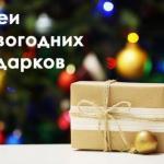 Вы уже знаете, какие подарки положить родным и близким под елку в новый год?
