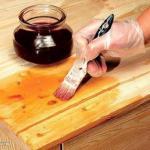 Натуральные способы обработки древесины.