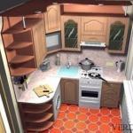 Как обставить кухню площадью 6 метров: полезные советы.