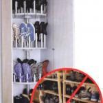 Шкаф для обуви своими руками.